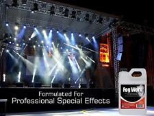 FogWorx Fog Juice Long Lasting Fog Fluid Medium Density, High Output 1 Gallon