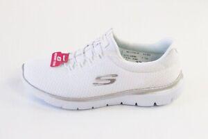 Skechers Summits Slipper Sneaker   weiß   Mesh   Memory Foam   Größe 38 39