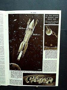 The SPHERE 1946 - Belgian Skymaster Crash Gander Newfoundland, Moon Rocket Plans