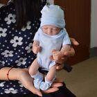 "Handmade Reborn 11"" Real Looking Newborn Baby Boy Vinyl Silicone Realistic Doll"