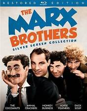 The Marx Brothers Silver Screen Collection Blu-ray 3-Disc Set 2016 Groucho Harpo