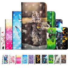 For Samsung J3 J5 J7 2017 2016 Magnetic Leather Flip Painted Case Wallet Cover