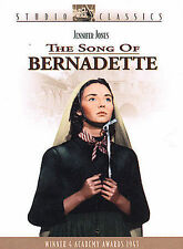 The Song of Bernadette, Good DVD, William Eythe, Charles Bickford, Vincent Price