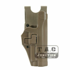For Sig Sauer P226 P229 Serpa Level 2 Right Hand Pistol Holster w/ Jacket Slot