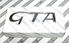 "100% GENUINE ALFA ROMEO 147 156 3.2 "" GTA ""  NEW Rear Boot Badge Emblem 60686739"