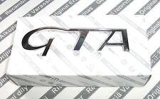 """100% Genuine Alfa Romeo 147 156 3.2 """"GTA"""" NUOVO posteriore avvio Badge Emblema 60686739"""