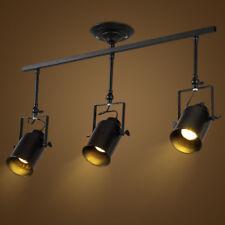 Flush Mount Ceiling Lights LED Spot Lights Bar Lamp Hotel Black Pendant Lighting