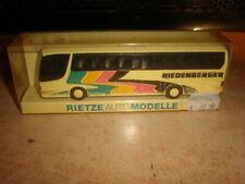 Rietze #60220 HO 1/87 SETRA bus RIEDENBERGER        MIB (50/017)