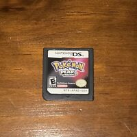 Pokemon: Pearl Version (Nintendo DS, 2007) Authentic Game - TESTED WORKS!!!