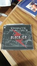 tribute to ACDC black ice CD copy cat records rare excellent