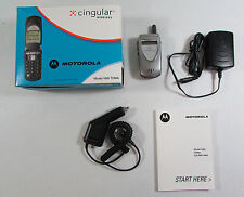 Motorola V60i TDMA Vintage Flip Cell Phone Cellphone Cingular Wireless (AT&T)