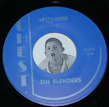 Doo Wop R&B Soul 45~THE BLENDERS~Daughter / TY HUNTER~Lonely Baby~Chest