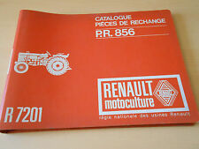 Catalogue pièces de rechange tracteur Renault R 7201
