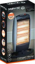 DAEWOO marca 1200W PORTATILE HOME & Office ELETTRICA OSCILLANTE alogena riscaldatore