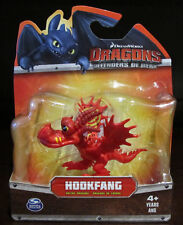 RARE NEW Dreamworks How To Train Your Dragon Hookfang Red Figurine