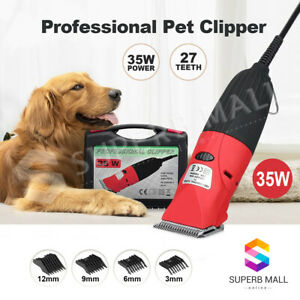 Electric 35W Pet Hair Clipper Cutter Trimmer Shaver Grooming Kit for Dog Cat