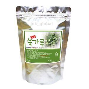 100% Korean Medicinal Herbs Mugwort Powder 0.66lb High Quality 300g 0.44lb