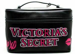 Victoria's Secret ANGEL HEART GRAFFITI💋 Vanity Makeup Bag Train Case 2PC SET 💋