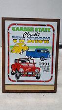1991 CLASSIC VW / SHOW LIBERTY STATE PARK NJ / 1ST PLACE PLAQUE  VW STOCK - MOD