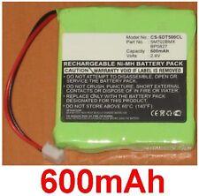 Batterie pour DECT type 5M702BMX GP0735 GP0747 GP0748 GP0827 GP0845 **600mAh**