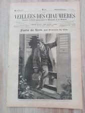 Journal illustré 1909  - Veillées des Chaumières - 05 juin - Fierté de Race...