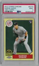 2017 Topps Chrome Aaron Judge 1987 Rookie Card PSA 9 Mint New York Yankees RC