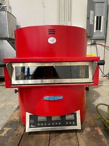 Turbochef FIRE Countertop Pizza Oven Single Deck RED