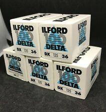 5x Ilford 100 Delta BW 135mm expired film Lomo kodak fuji agfa perutz 3M 35mm
