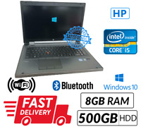 HP EliteBook Mobile Workstation 8760w Core i5 2540M@2.60GHz 8GB 500GB Win 10 Pro