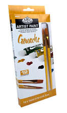 Royal & Langnickel 12ml Assorted Gouache Paints (pack of 12)