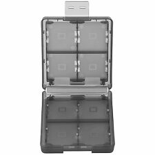 16 Slot in 1 Game Card Holder Storage Case Box For Nintendo 3DS XL 2DS Black