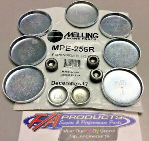 Melling MPE-256R 1987 - 2006 Jeep 4.0L 6 Cylinder Engine Steel Freeze Plug Kit