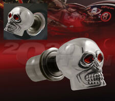 CHROME SKULL CIGARETTE LIGHTER REPLACEMENT FOR FORD F150 F250 EXPEDITION MUSTANG