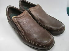 Earth Spirit Edison Brown Leather Loafers Mens Casual Shoes size 13