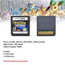 USA Version DS Pokemon Diamond version Game Card 3DS NDSI NDS NDSL Kid's Gift