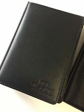 TISSOT WATCHES - LEATHER WALLET MONEY AND CREDIT CARDs - GENUINE RARE !