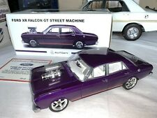 1 18 Biante Ford XR GT Falcon Purple Street Machine Modified With RDM Wheels
