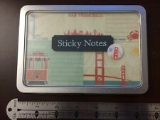 Cavallini Papers Sticky Notes San Francisco Golden Gate Bridge 300 count