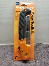 "Fiskars 7"" Folding Pruning Saw  Non-Slip Grip #9368- NEW"