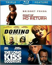Point of No Return / Domino / The Long Kiss Goodnight [Triple Feature] [Blu-ray]