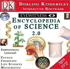 DK Eyewitness Encyclopedia of Science 2.0 Pc New Cd Sealed In Paper Sleeve XP
