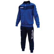 Tuta Visa Givova Training Allenamento Calcio Running Sport Tracksuit Palestra Jo L Rosso/nero
