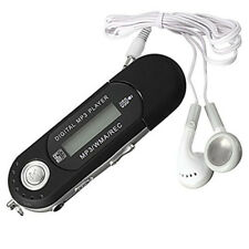 8GB Portable Music MP3 Player USB Digital LCD Screen Mini TF FM Radio Black New