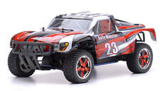 1/10 RC Rally Monster Nitro Gas RTR Off Road Short Course Truck 4WD Stripe Red
