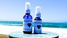 Super Diamond Water Mist. Chakra Balancing. Refill and Reuse! Detoxify.