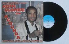 African Music Record Koffi Olomide Ngounda Soukous Afro Disco Dance Synth Congo