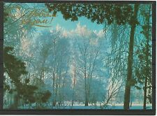URSS 1984 New Year Russian Winter Winter Forest FORESTA INVERNO MC MK Russia NEW!