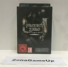 PROJECT ZERO MAIDEN OF BLACK WATER LIMITED EDITION - NINTENDO WIIU NEW PAL