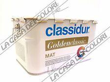 CLASSIDUR GOLDENCLASSIC MAT - 2,5 lt - PITTURA ANTIMACCHIA INODORE