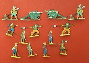 1950's German Kieler Zinnfiguren Imperial Artillery Tin Soldiers in Box  #11422